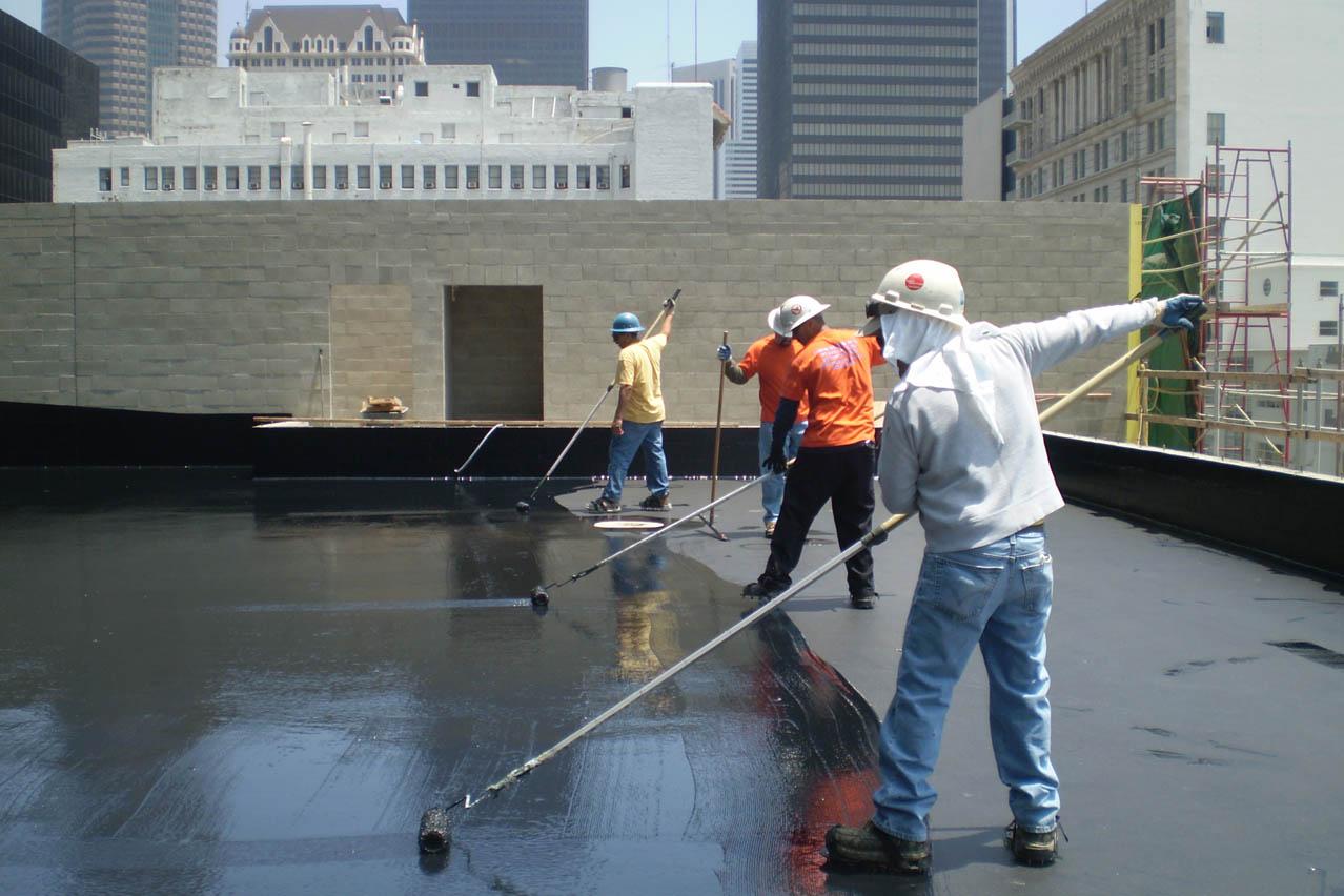 Metal Roof Waterproofing